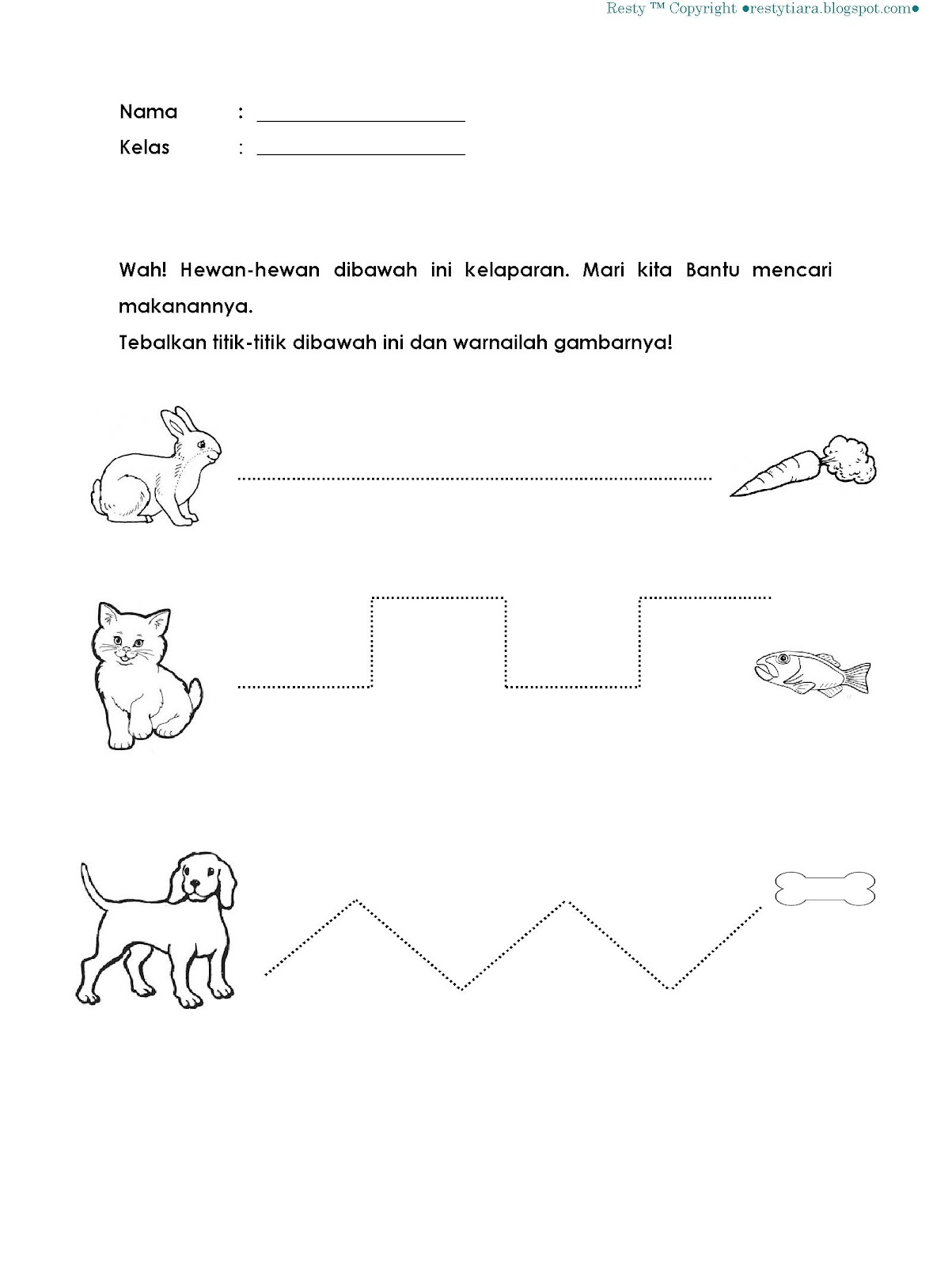 Worksheets Worksheet Belajar Membaca Waytoohuman Free