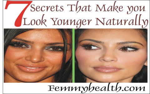 Discover 7 Surprising  Secret that Make you look younger naturally