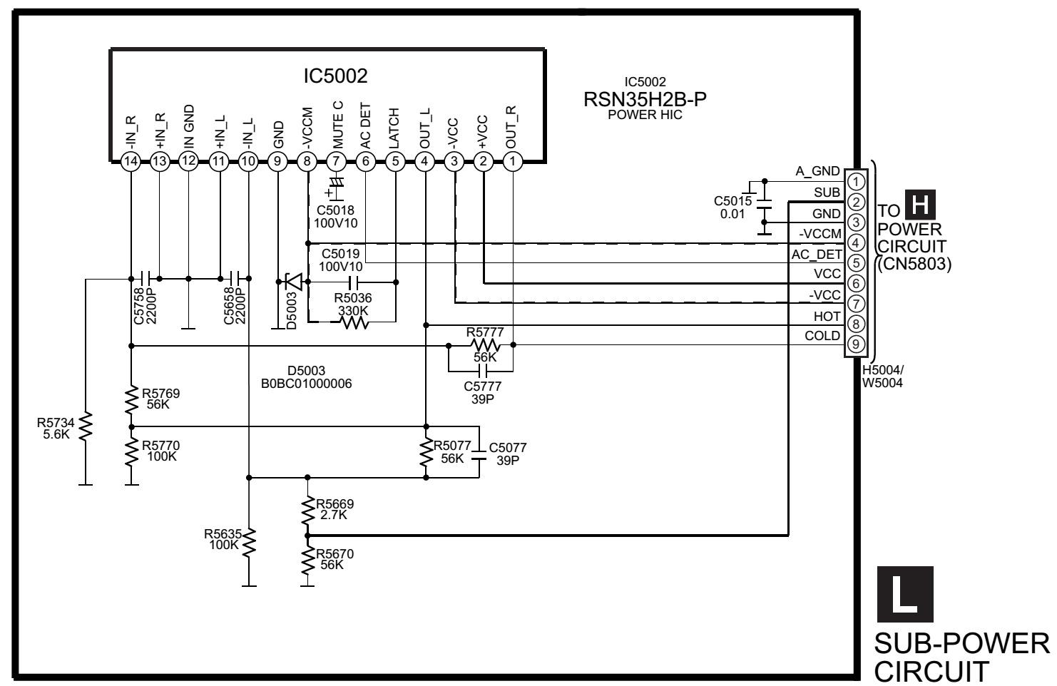 schematic diagrams  panasonic sa ak630 - schematic