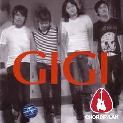Lirik dan chord Restu Cinta - Gigi