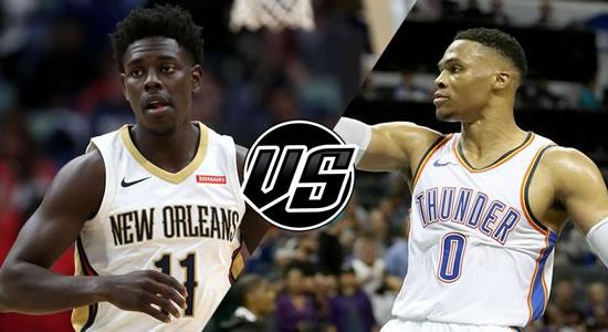 Live Streaming List: New Orleans Pelicans vs Oklahoma City Thunder 2018-2019 NBA Season