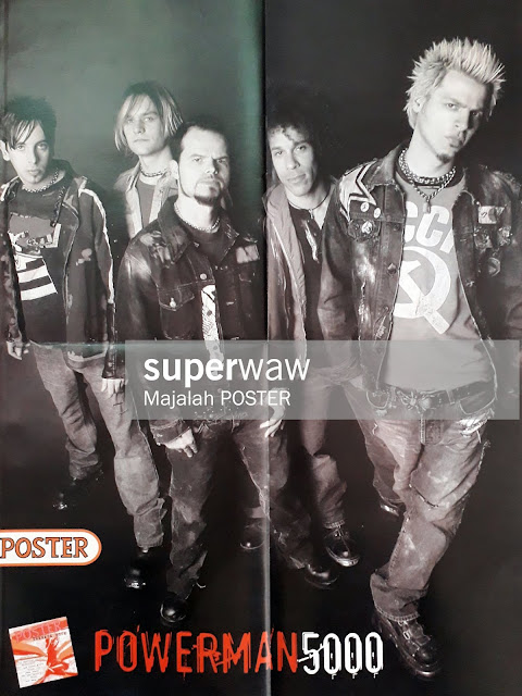 POSTER POWERMAN 5000