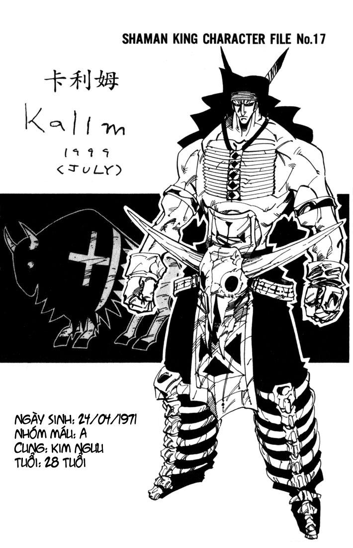 Shaman King [Vua pháp thuật] chap 33 trang 20