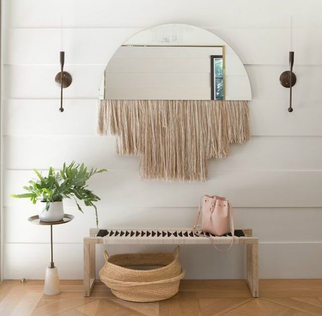 5 tutoriales para hacer espejos con flecos o bordes