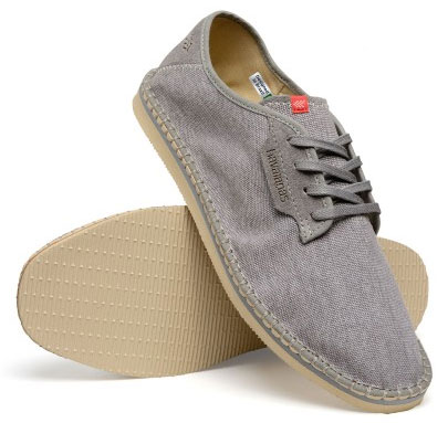 Havaianas alpargatas sneaker casual layers cinza