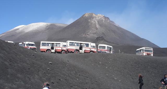 Mount Etna em Sicília