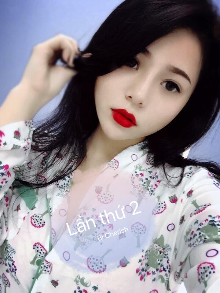 Hot Girl Hoàng Anh (Bi Cherish) - Ghiền Mì Gõ lộ Clip XX