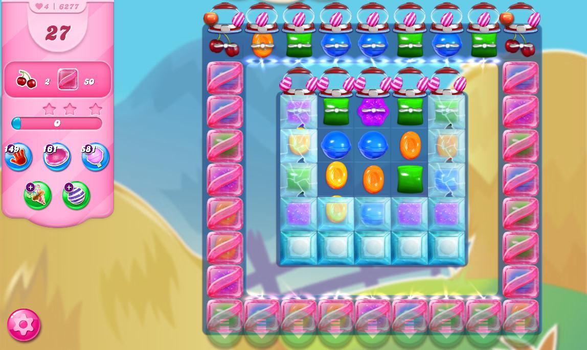 Candy Crush Saga level 6277