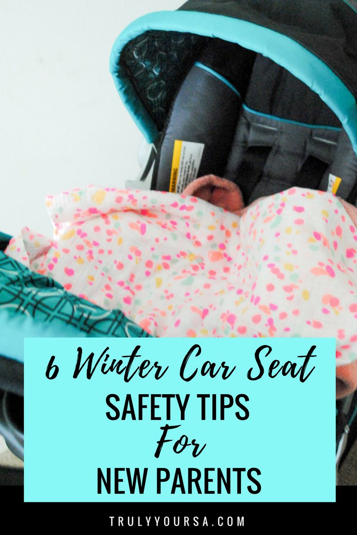 #ad #CarsCom After a couple of mild, teasingly warm days, the cold is back. I don't know about you guys, but I'm anxious for spring to hurry up and get here! Before it can, we've gotta get through what's left of winter. This was my first winter season with a baby and I learned so much about how to keep my babe nice and toasty, but still safe while in her car seat. #carseatsafety #wintercarseatsafety #tipsfornewparents