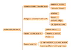 Peta Konsep Sistem Kekebalan Tubuh