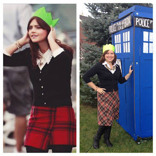 "Clara from ""The Time of the Doctor"", Halloween 2013"