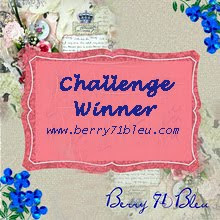 I was a Challenge Winner at Berry71blue