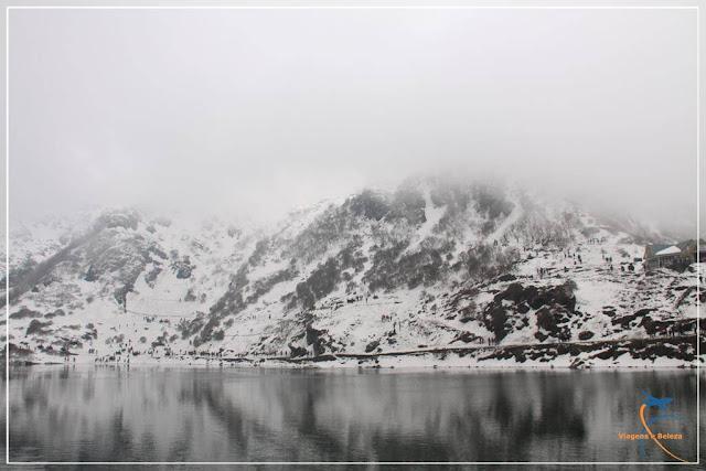 Tsomgo Lake ou Changu Lake, Sikkim, Índia