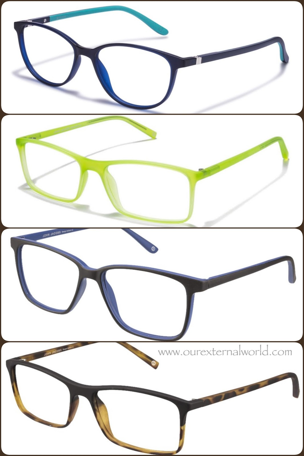 f60e2b4d65 mens eyewear - John Jacobs slim collection
