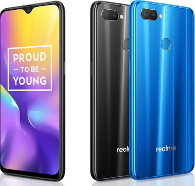 Realme U1 with MediaTek Helio P70 | 6.3-inches FHD+ Notch Display | 25MP Sony IMX576 Sensor Camera