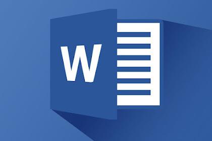 Cara Menambah Menu Pada Quick Access Toolbar Microsoft Word
