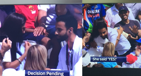 News, London, World, Sports, India vs England: Marriage Proposal During 2nd ODI At Lord's Goes Viral