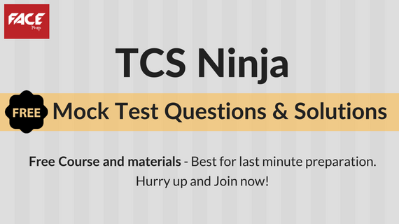 TCS Ninja Mock Test Questions and Answers with Explanations - Matterhere