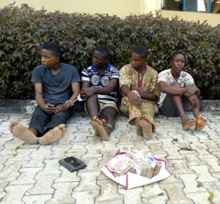3 siblings paraded for allegedly kidnapping church member's 6-year-old daughter in Ondo