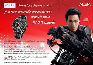 Alba - CONTEST- Win ALBA's Fall/Winter Collection Watches