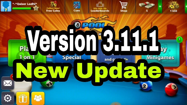 8 ball pool version 3.11.1