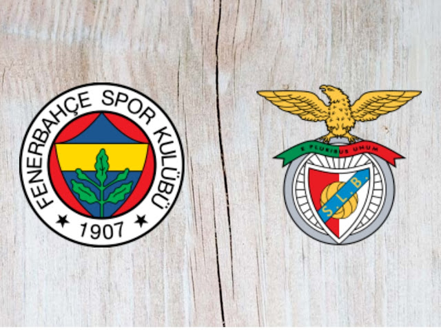 Fenerbahçe vs Benfica Full Match & Highlights - 14 August 2018