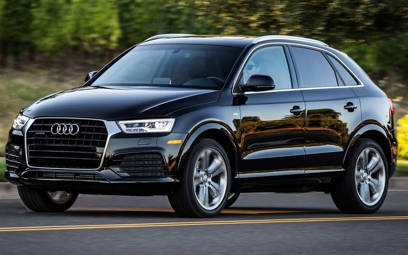 Audi Q3 2017 - Preto