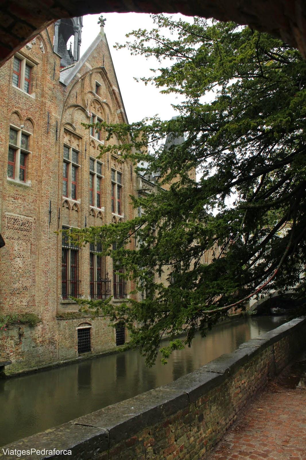 Canal de Bruges, Brugge, Flandes, Belgica
