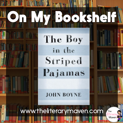 The Boy in the Striped Pajamas by John Boyne is told using a third person limited narrator, and focuses on Bruno, a young German boy growing up during World War II. Although the novel is fictional, it presents a child's perspective of the choices one family makes during a terrible time in history. Read on for more of my review and ideas for classroom application.