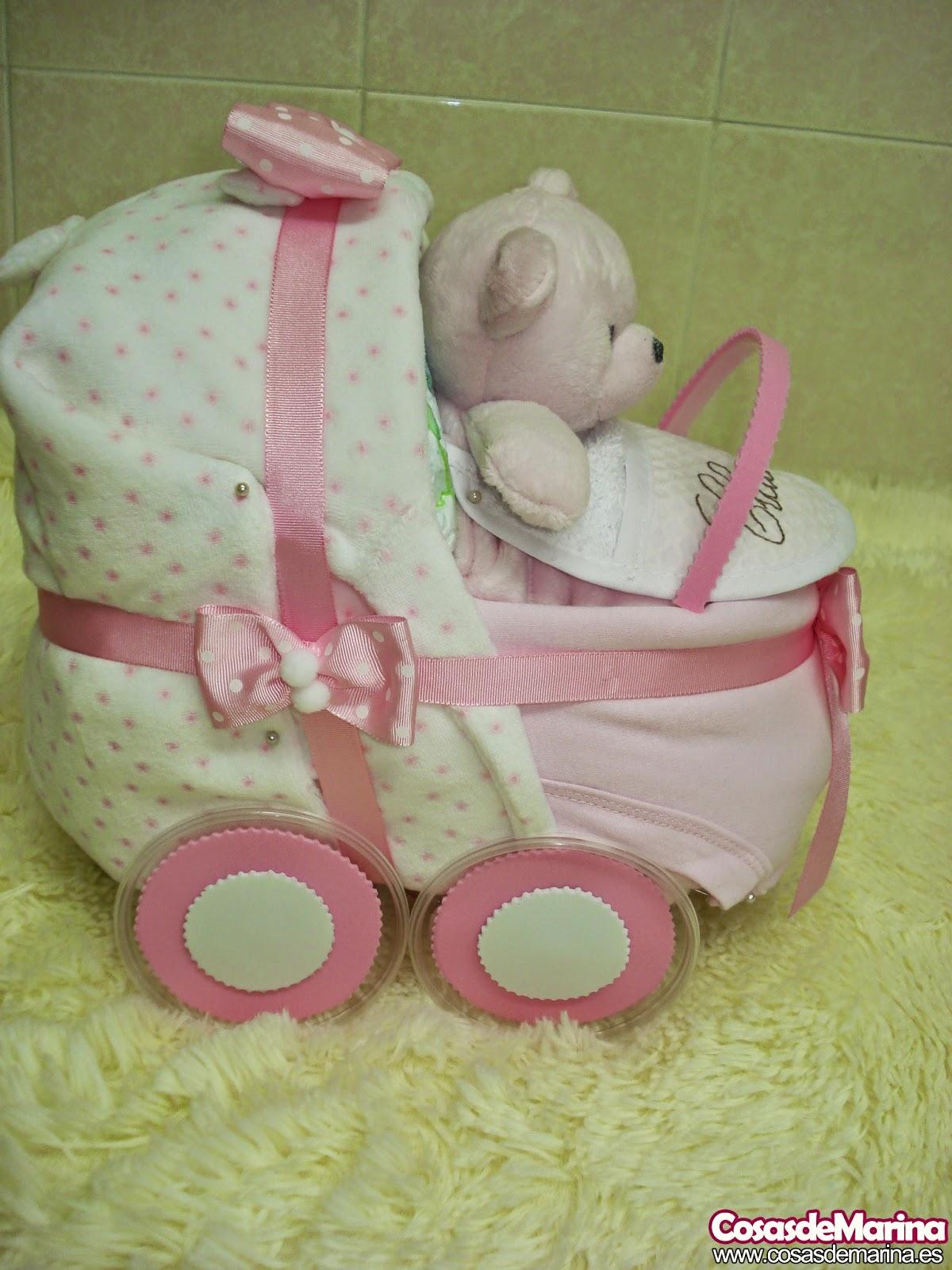 c2416a0a96ef Regalos con pañales, detalles para bebes ... - CosasdeMarina