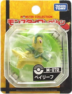 Bayleef figure Takara Tomy Monster Collection M series