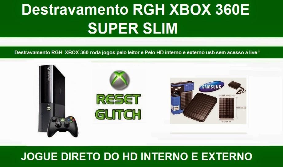 DESBLOQUEIO XBOX 360 - ELETRÔNICA BETA