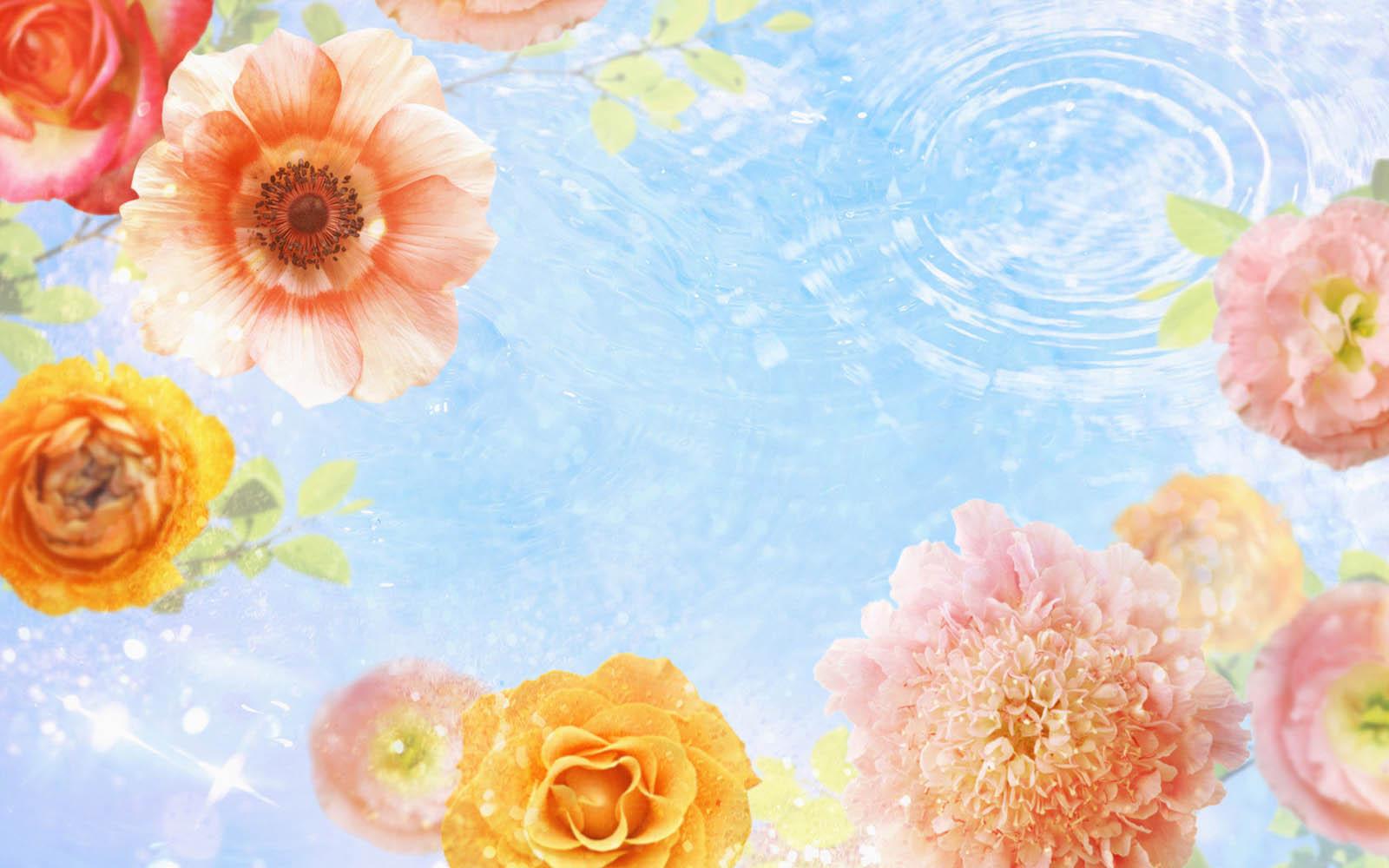 wallpapers: Flower Art Wallpapers