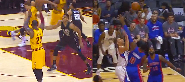 The Cavaliers and Clippers Most Creative Alley-Oops from the 2017 Season (VIDEO)