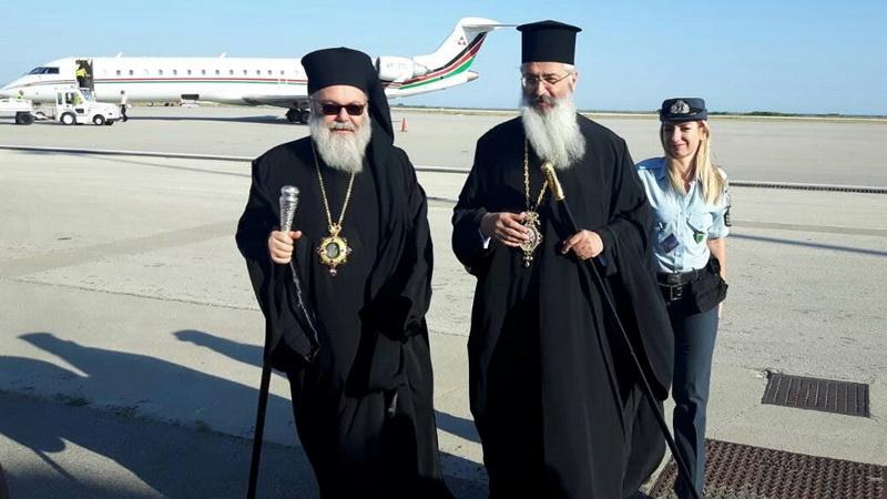 Ο Πατριάρχης Αντιοχείας κ. Ιωάννης στην Αλεξανδρούπολη