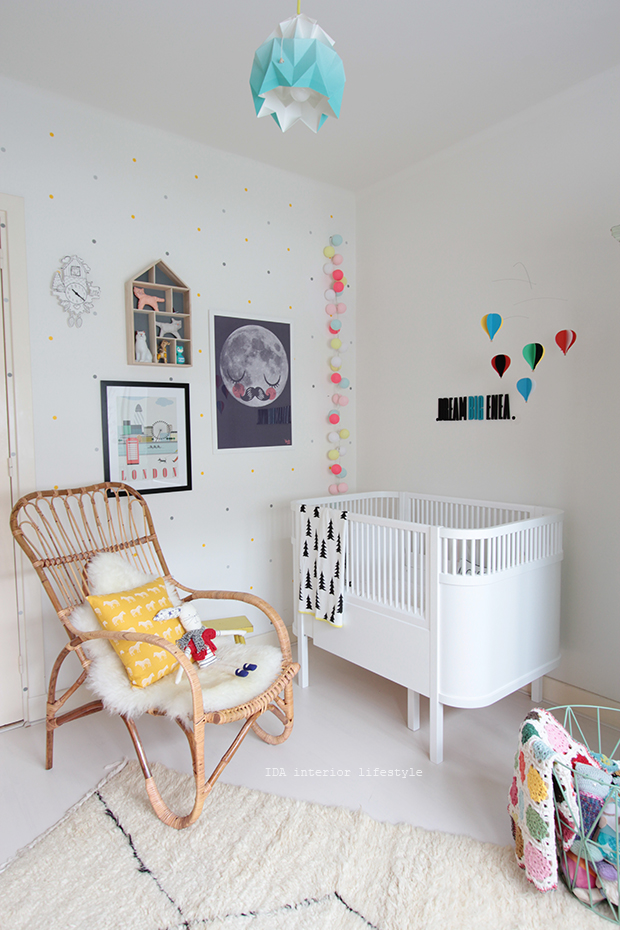 Ida Interior Lifestyle The Baby Room Tour