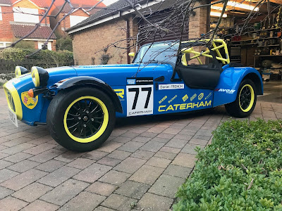 Side picture of my 2018 Caterham Roadsport ready car