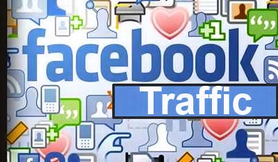 get traffic from facebook