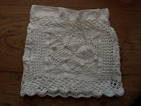 Crochet Summer Skirt White