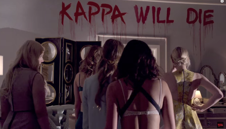Scream Queens Emma Roberts novo teaser