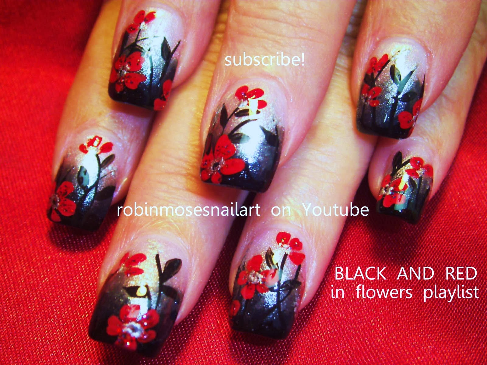 Nail Art By Robin Moses Quot Fall Leaves Quot Quot Fall Nails Quot Quot Fall Nail Art Quot Quot Fall Flower Nail Art