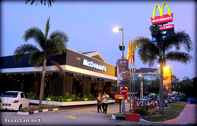 McDonald's Kota Damansara with it's McCafe inside