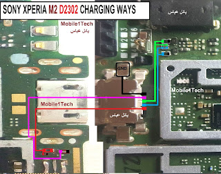 SONY XPERIA M2 D2302 CHARGING WAYS