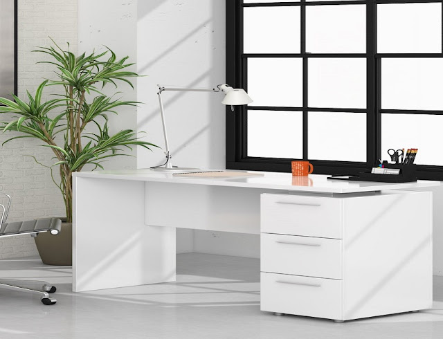 best buying tempra white office furniture for sale online