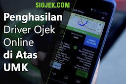 Penghasilan Driver Ojek Online Ternyata di Atas UMK