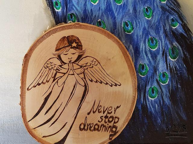 Aniołek – Never stop dreaming