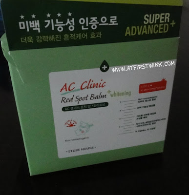 Etude House AC Clinic Red Spot Balm