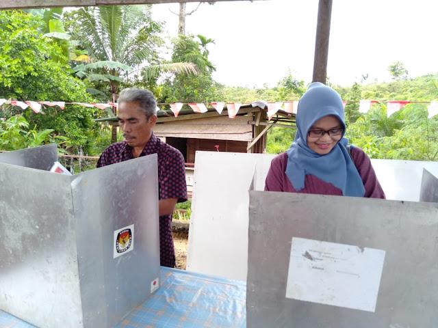 Usai Nyoblos di TPS 27, Wabup Tebo Pantau Pelaksanaan Pemilu di Dapil 1