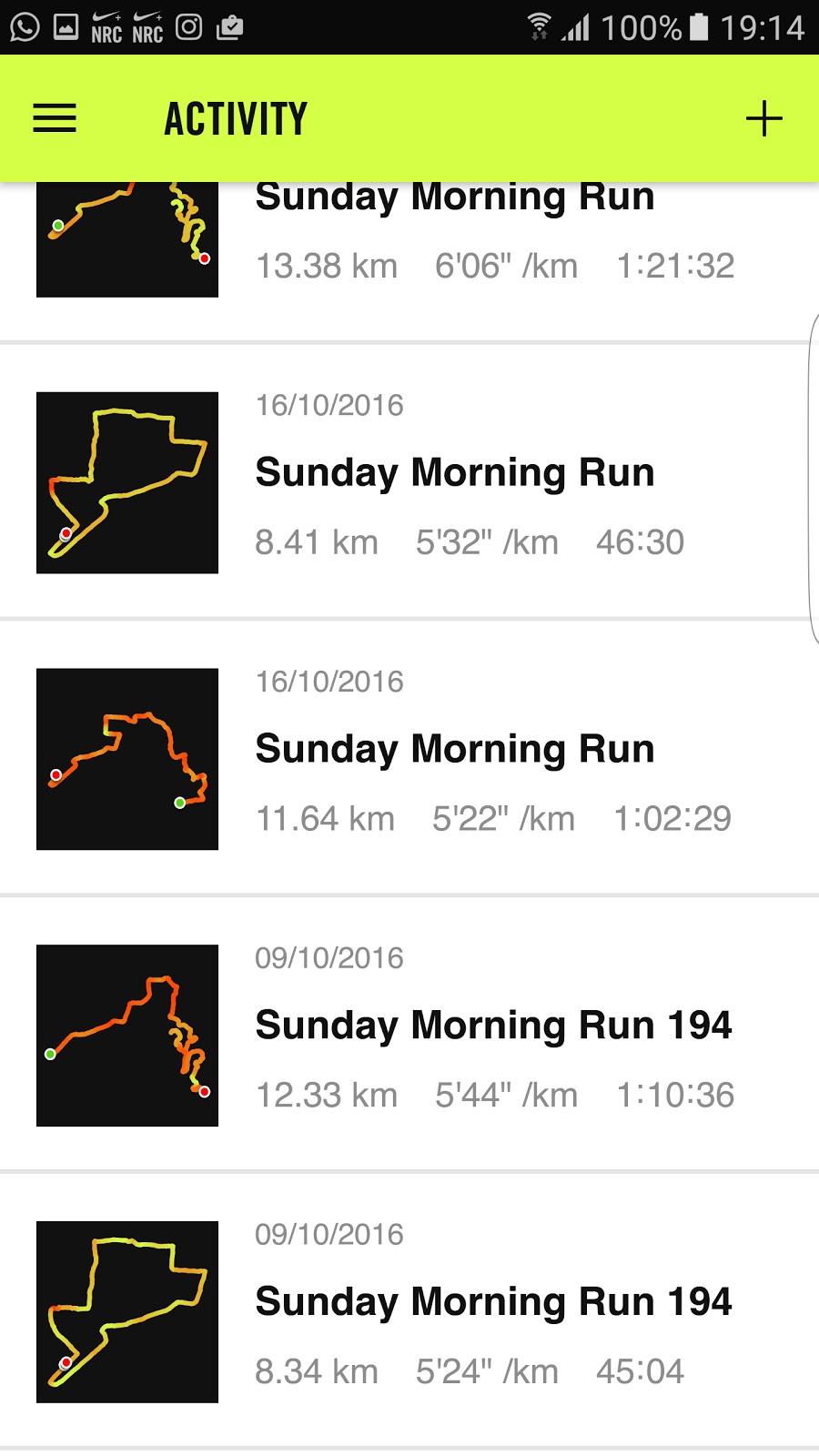 Nike+ Run Club (NRC) app review: My perfect running partner ...