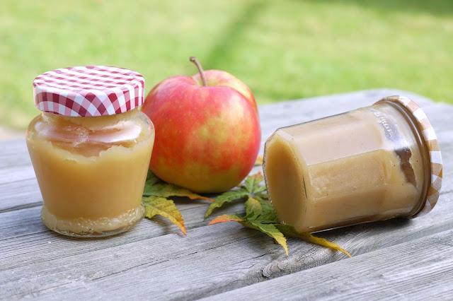 Schnelles Apfelmus-Dessert | Rezept